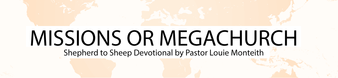 MISSIONS OR MEGACHURCH
